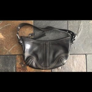COACH Handbag Purse Black